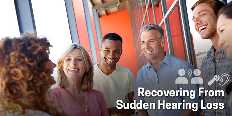 Recovering from sudden hearing loss