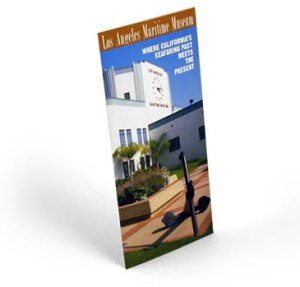 Los Angeles Maritime Museum brochure