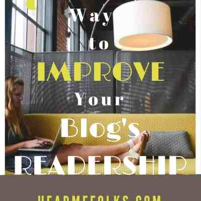 How to Increase blog readership