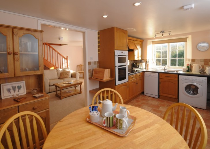 Annex Kitchen Diner Lower Hearson Farm Self Catering Holiday