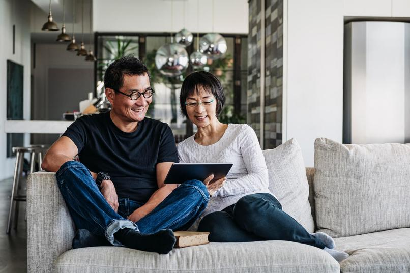 Image result for asians talking home interior