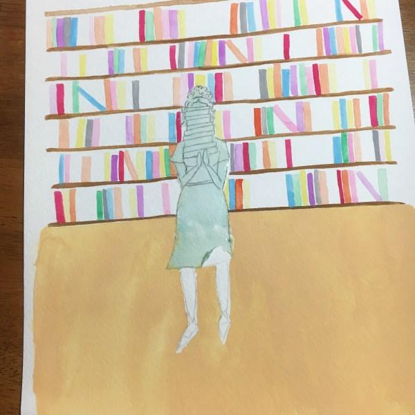 Bookish Girl WIP