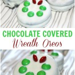 Wreath Chocolate Covered Oreos