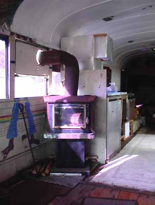 Wood Stove For A School Bus Hearth Com Forums Home