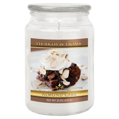 Almond Cake - Large Jar Candle