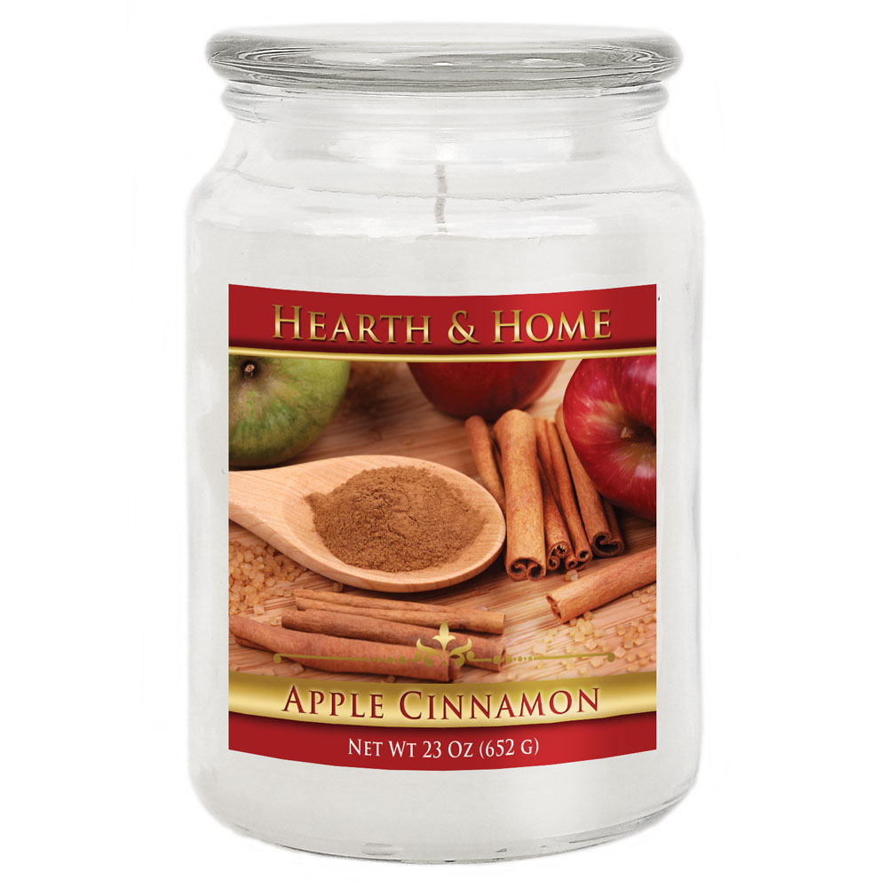 Apple Cinnamon - Large Jar Candle