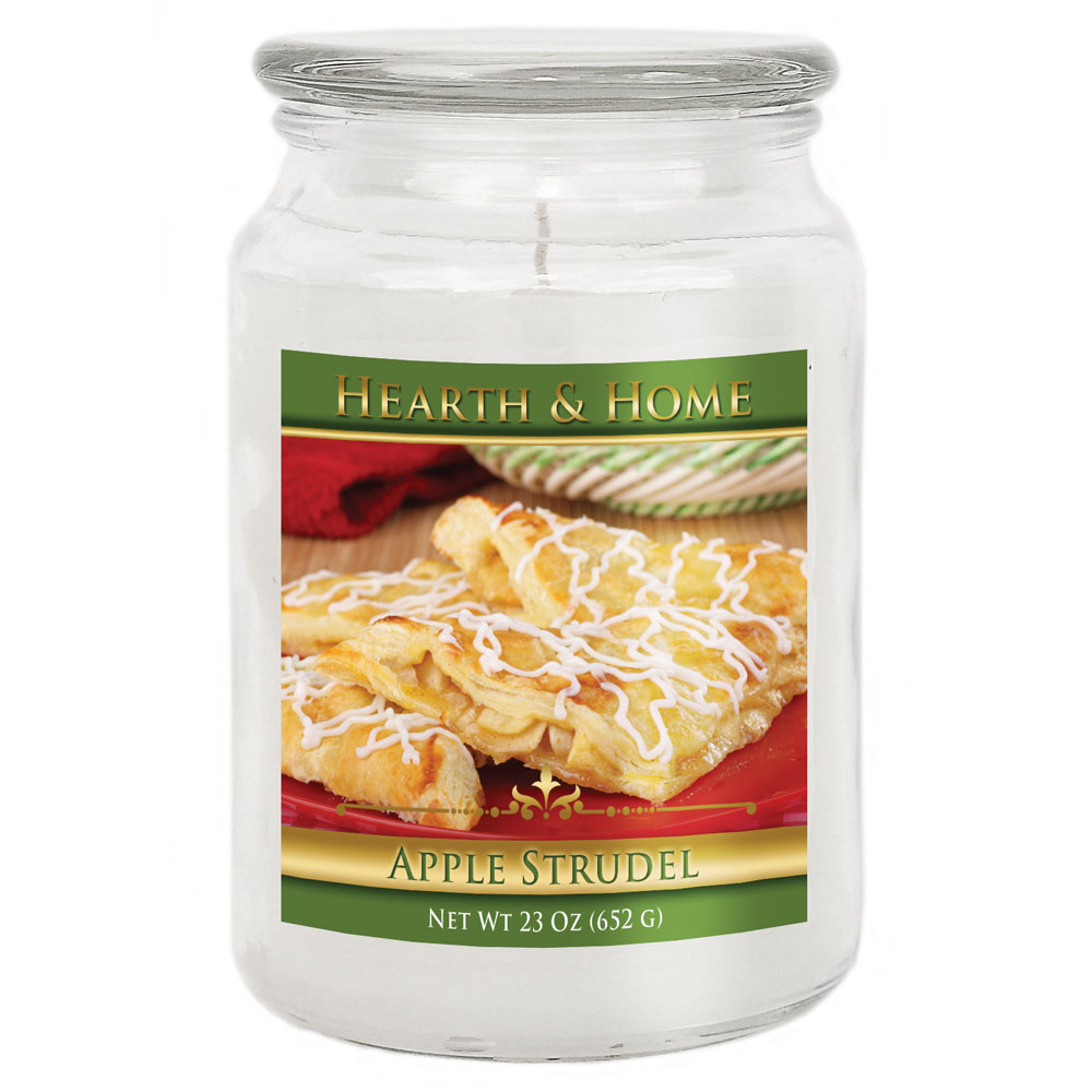 Apple Strudel - Large Jar Candle