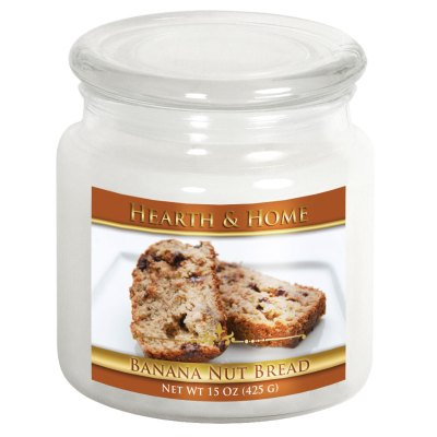 Banana Nut Bread - Medium Jar Candle