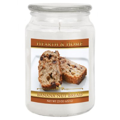 Banana Nut Bread - Large Jar Candle