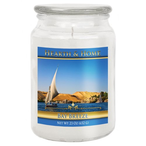 Bay Breeze - Large Jar Candle