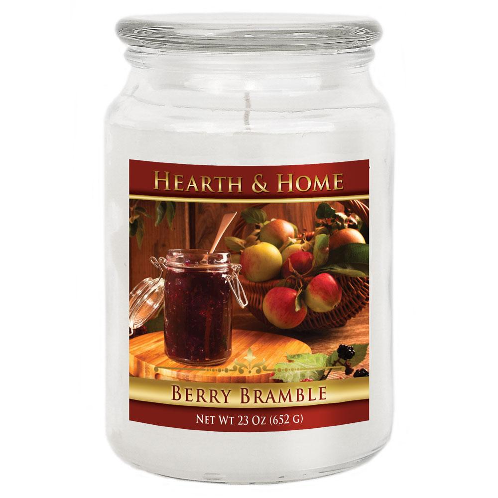 Berry Bramble - Large Jar Candle