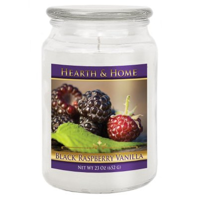 Black Raspberry Vanilla - Large Jar Candle
