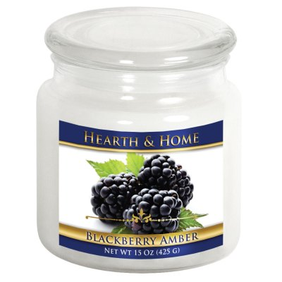 Blackberry Amber - Medium Jar Candle