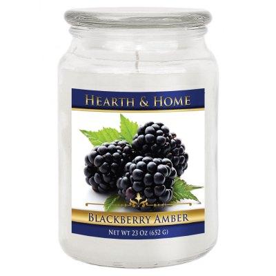 Blackberry Amber - Large Jar Candle