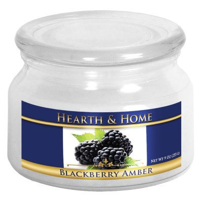 Blackberry Amber - Small Jar Candle