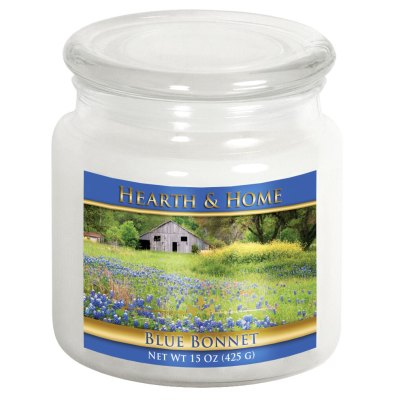Blue Bonnet - Medium Jar Candle