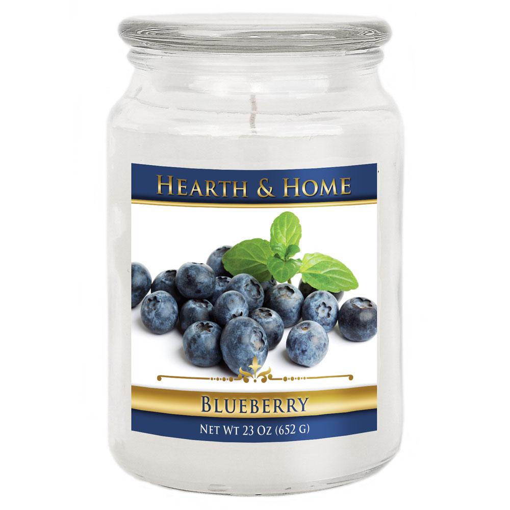 Blueberry - Large Jar Candle