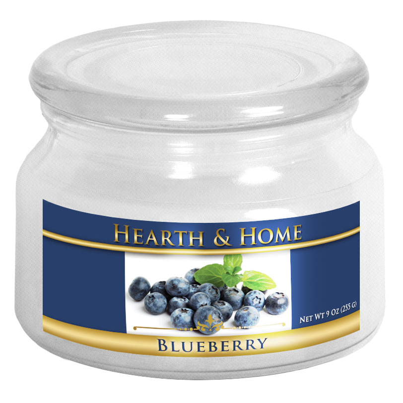 Blueberry - Small Jar Candle
