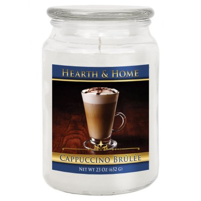 Cappuccino Brulee - Large Jar Candle
