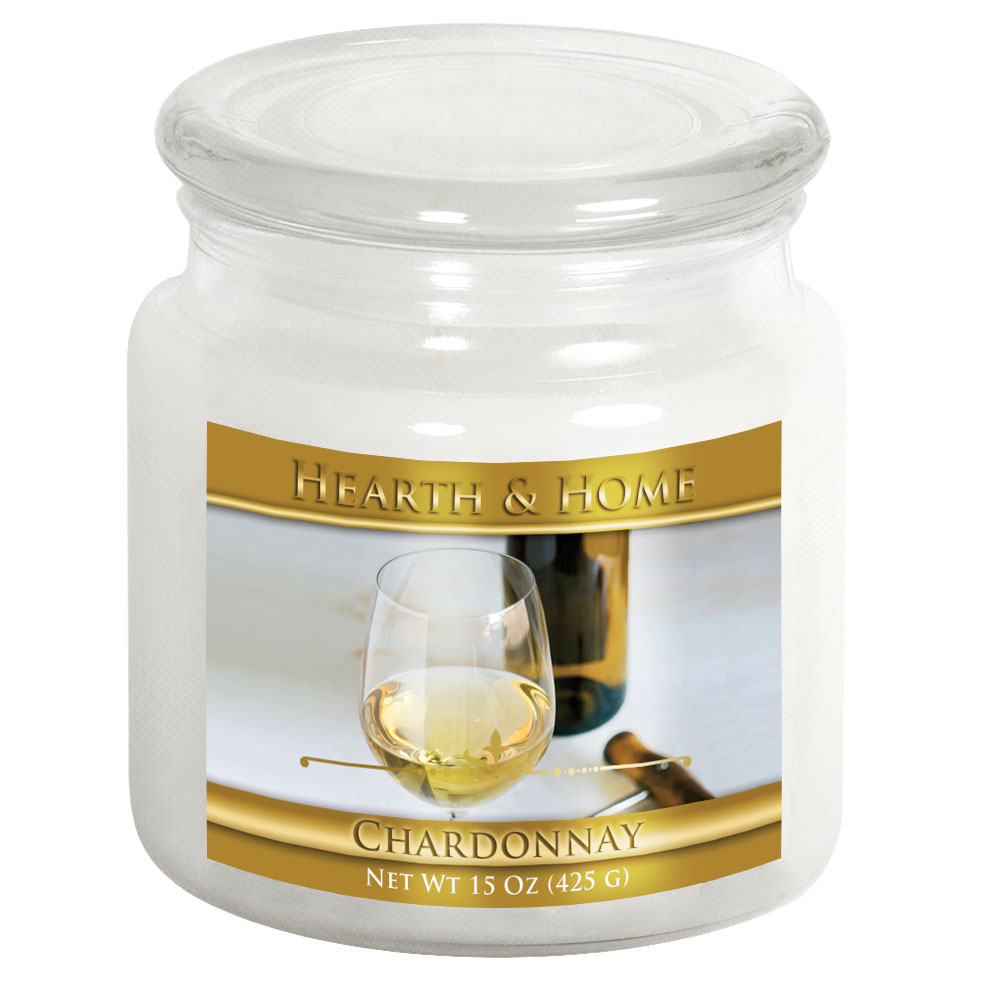Chardonnay - Medium Jar Candle