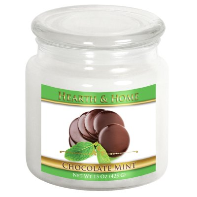 Chocolate Mint - Medium Jar Candle