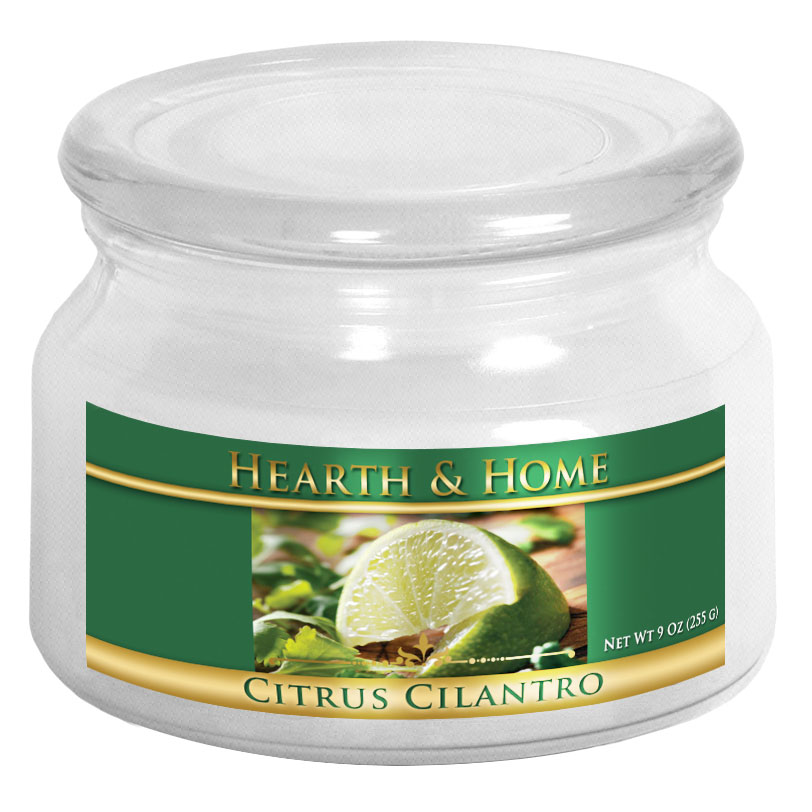 Citrus Cilantro - Small Jar Candle