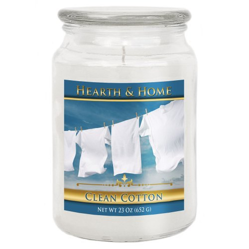 Clean Cotton - Large Jar Candle