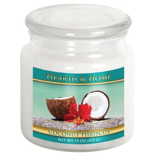 Coconut Hibiscus - Medium Jar Candle