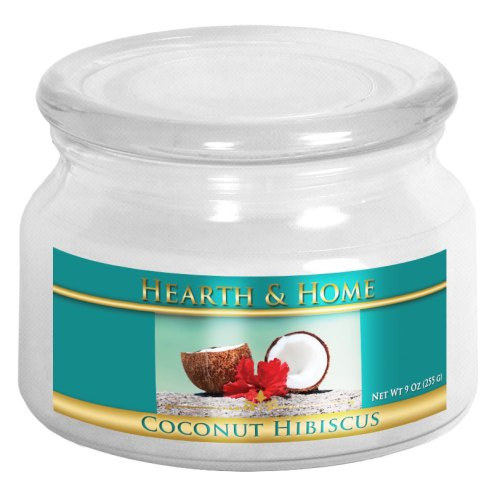 Coconut Hibiscus - Small Jar Candle