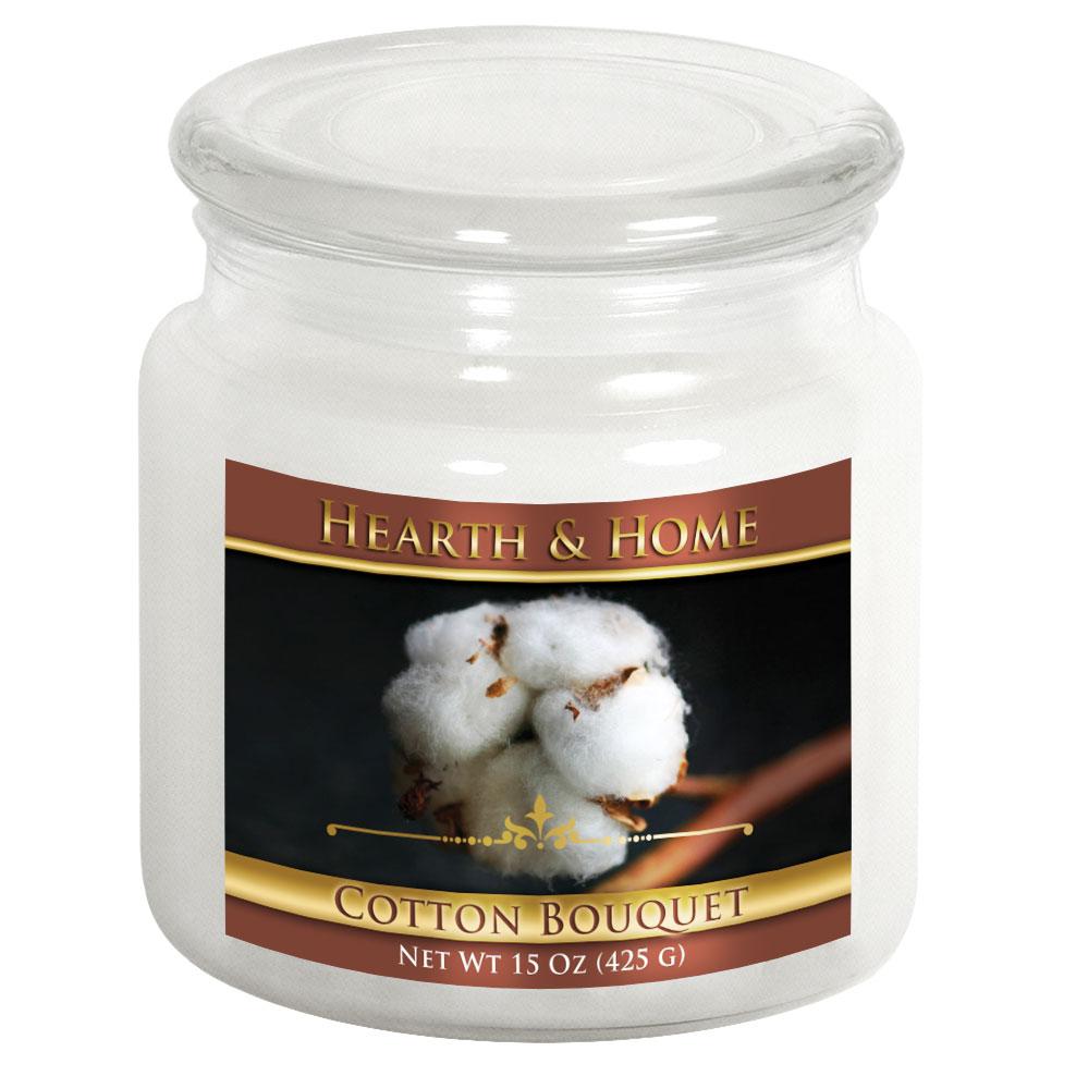 Cotton Bouquet - Medium Jar Candle