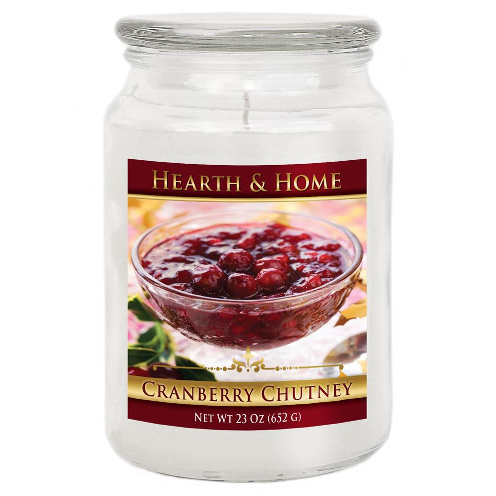 Cranberry Chutney - Large Jar Candle