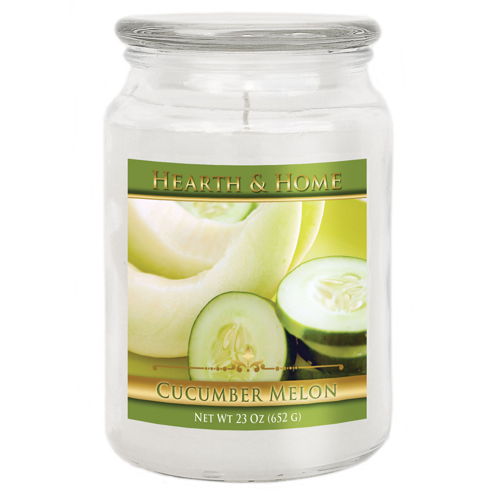 Cucumber Melon - Large Jar Candle