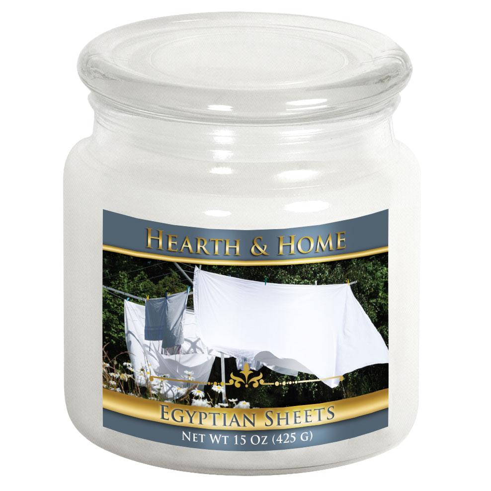 Egyptian Sheets - Medium Jar Candle