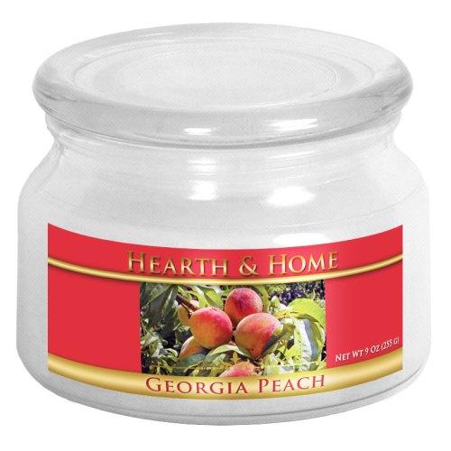 Georgia Peach - Small Jar Candle
