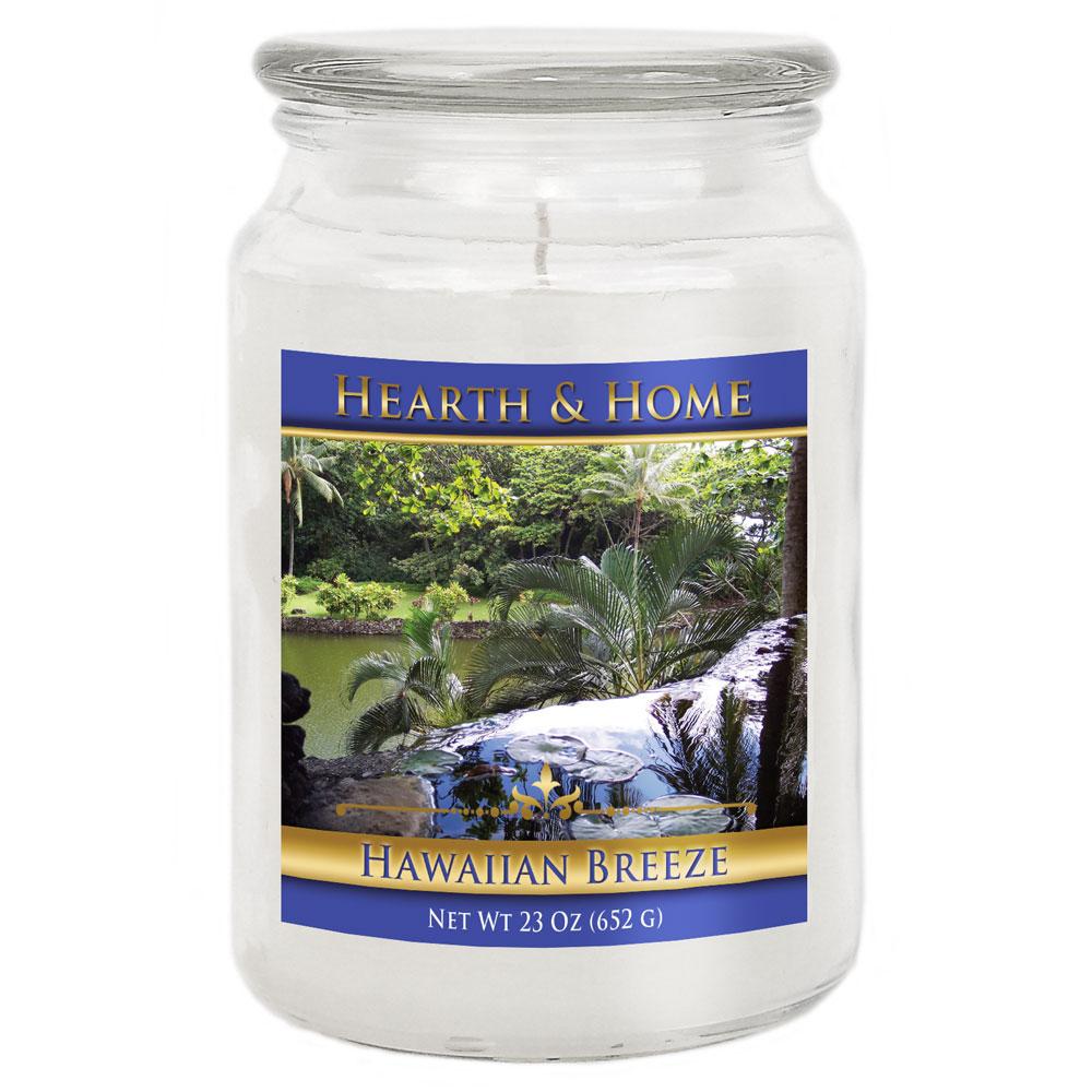 Hawaiian Breeze - Large Jar Candle