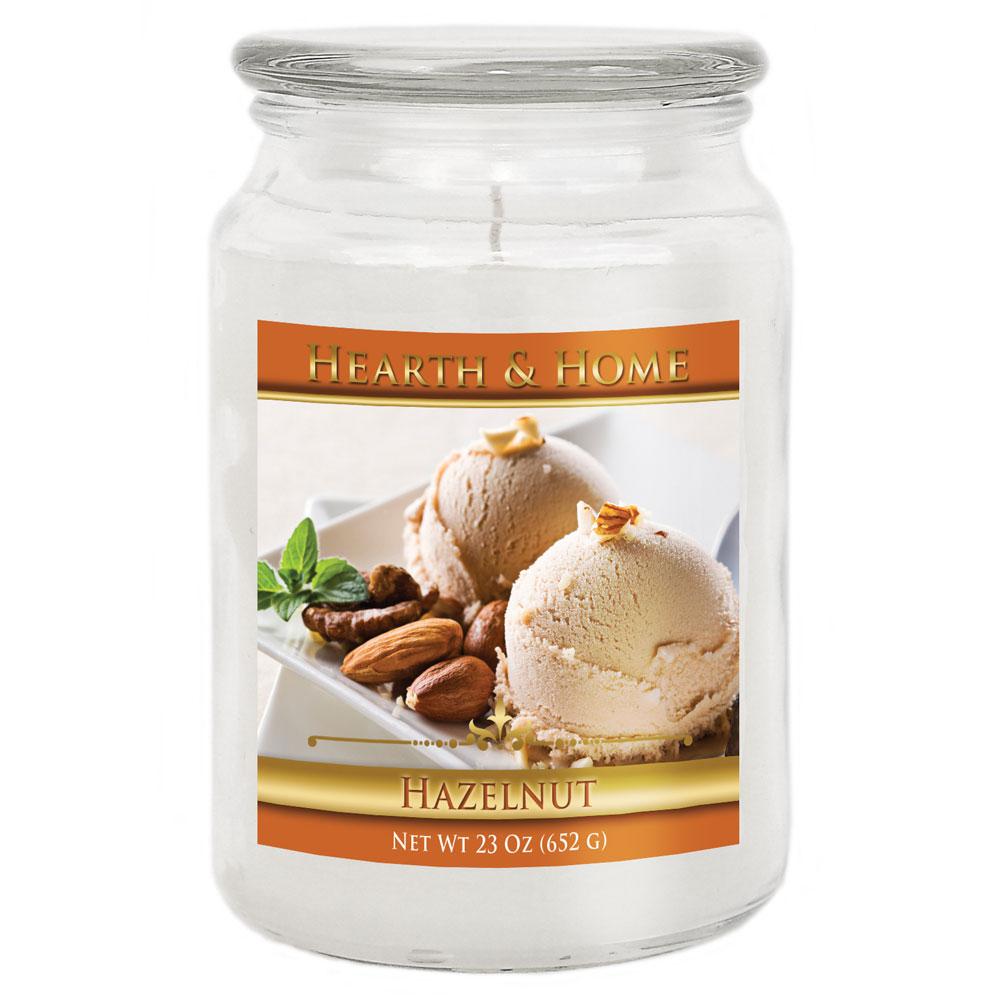Hazelnut - Large Jar Candle