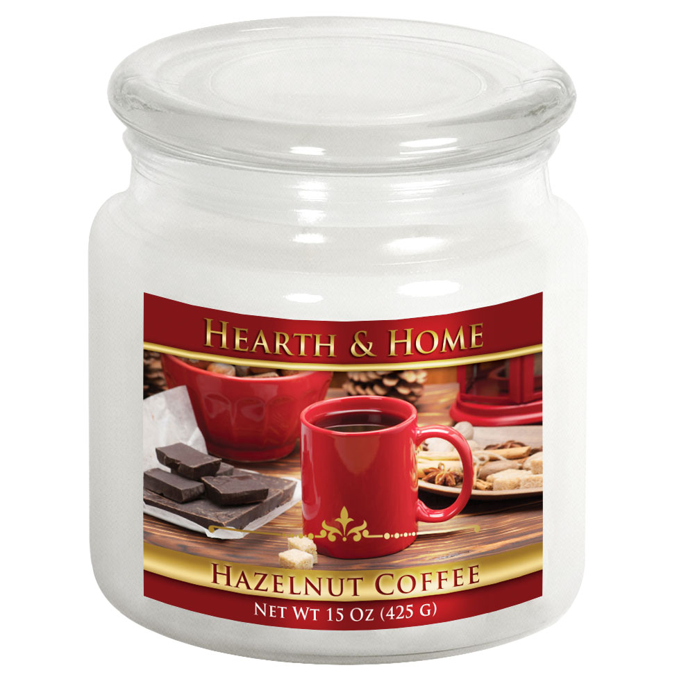 Hazelnut Coffee - Medium Jar Candle