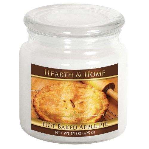 Hot Baked Apple Pie - Medium Jar Candle