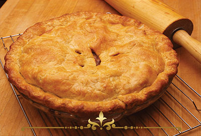 Hot Baked Apple Pie