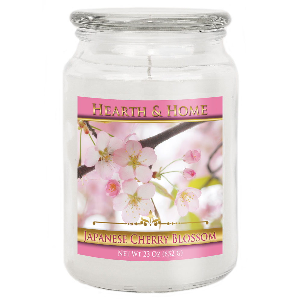 Japanese Cherry Blossom - Large Jar Candle