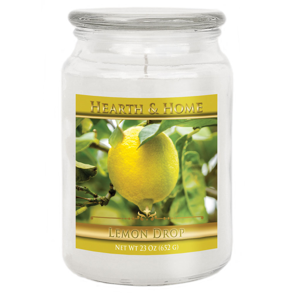 Lemon Drop - Large Jar Candle