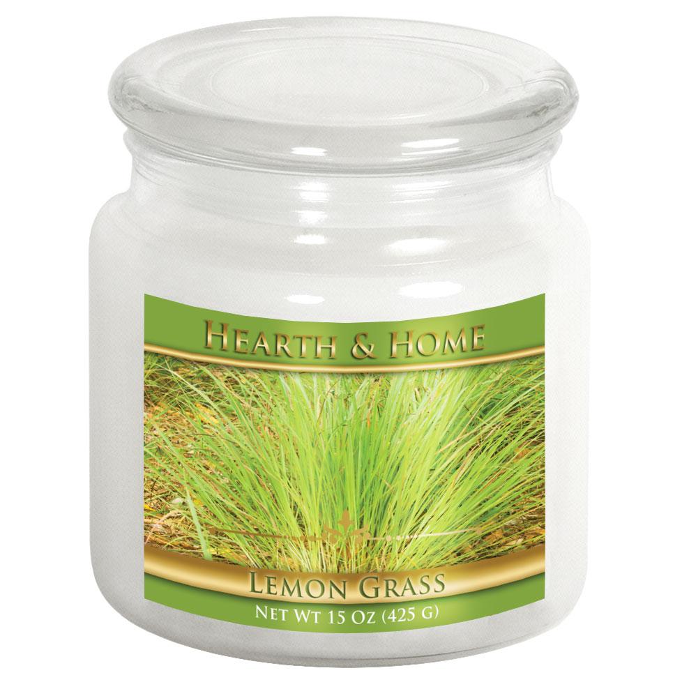 Lemon Grass - Medium Jar Candle