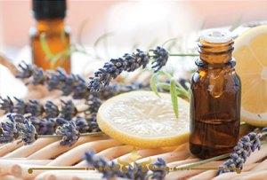 Lemon Lavender Scented Candles