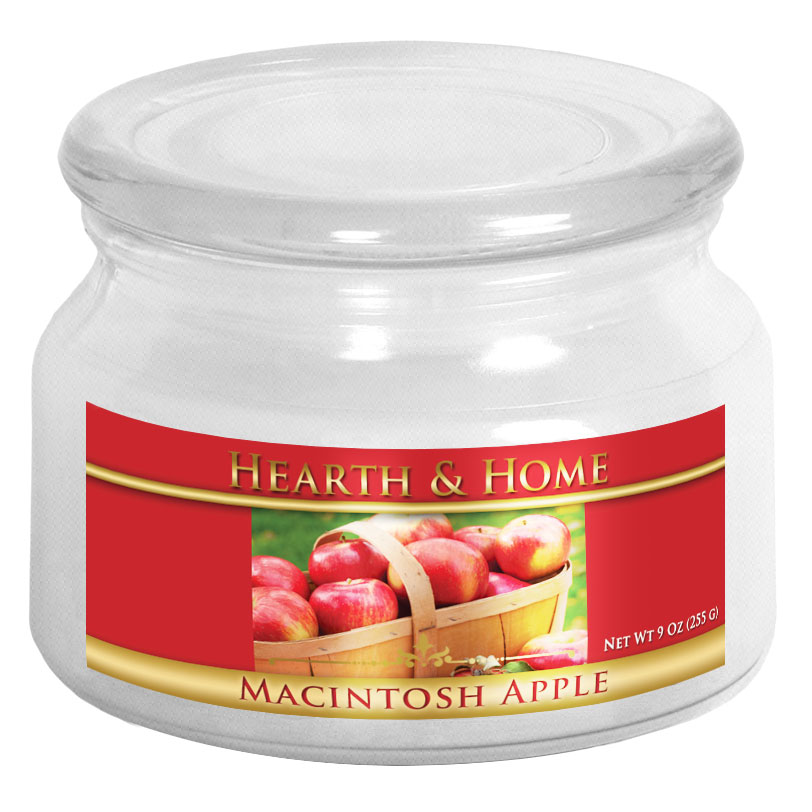 Macintosh Apple - Small Jar Candle