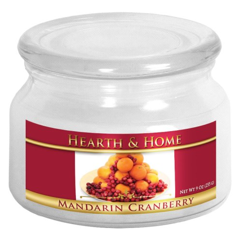 Mandarin Cranberry - Small Jar Candle