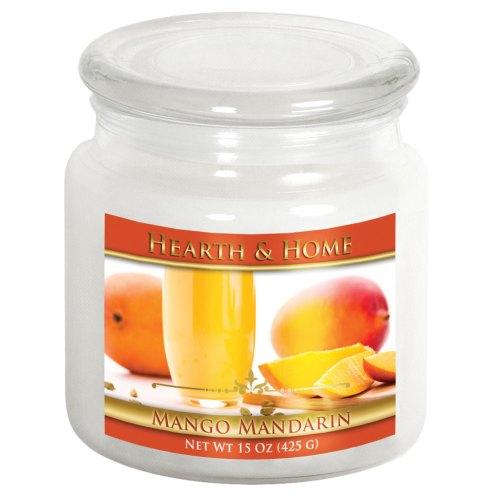 Mango Mandarin - Medium Jar Candle