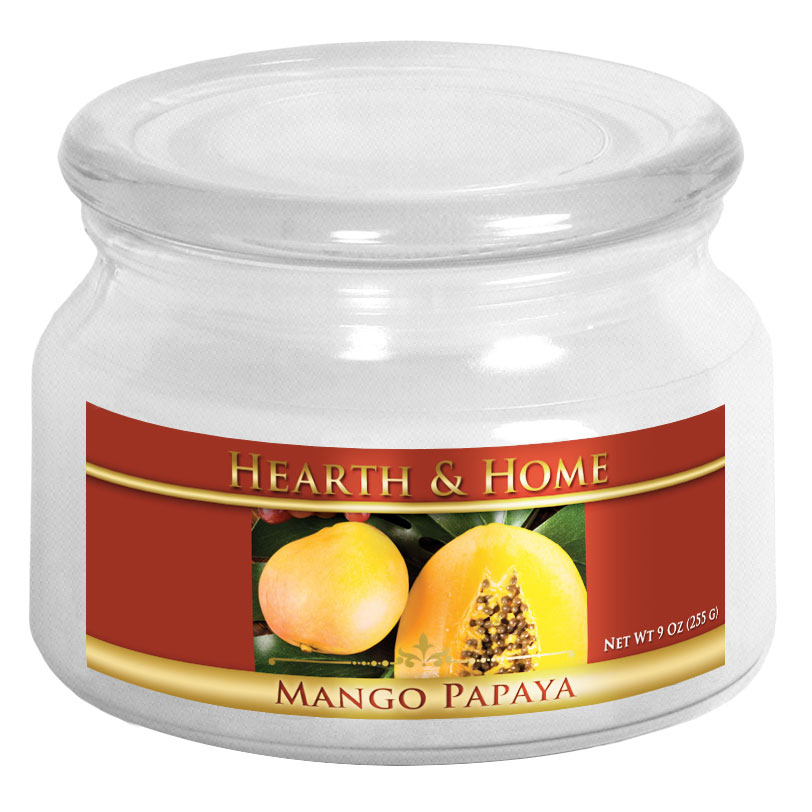 Mango Papaya - Small Jar Candle