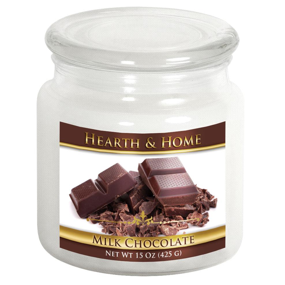 Milk Chocolate - Medium Jar Candle