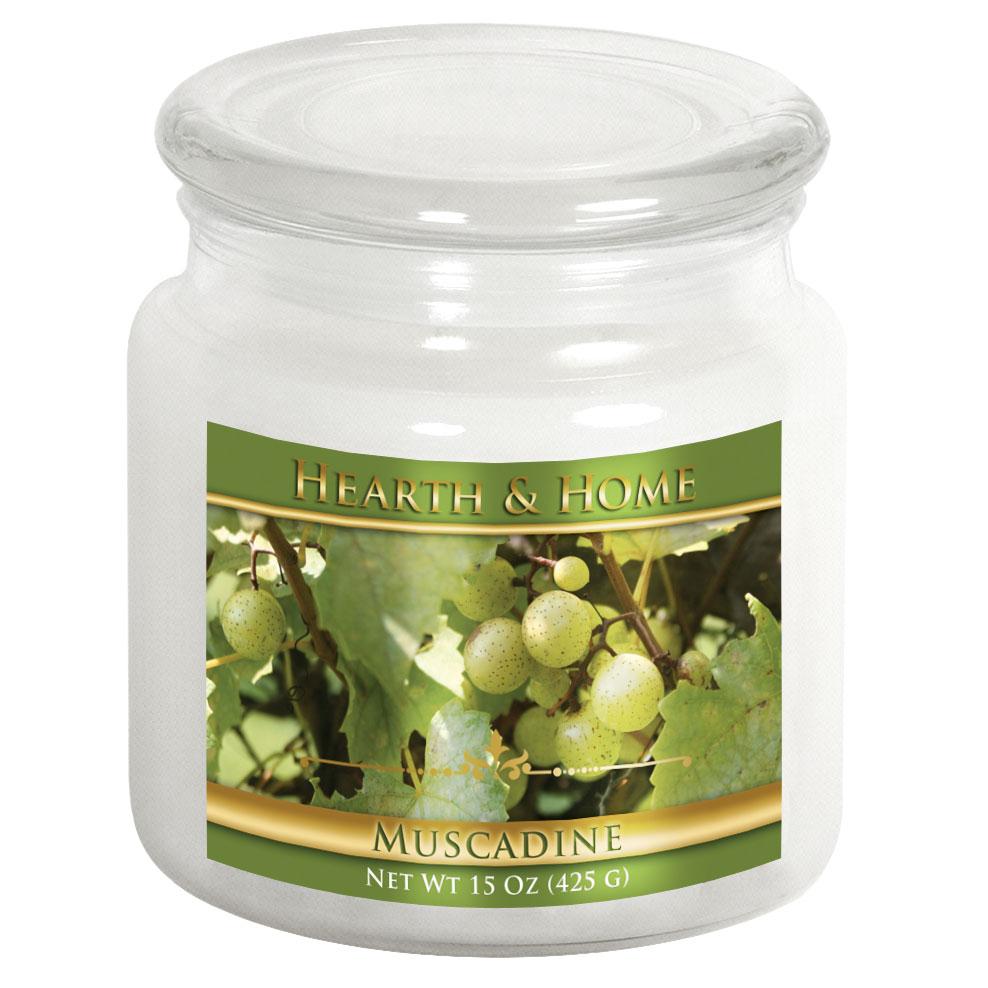 Muscadine - Medium Jar Candle