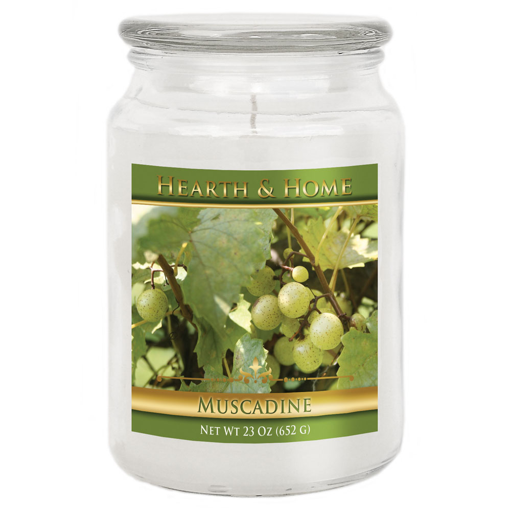 Muscadine - Large Jar Candle